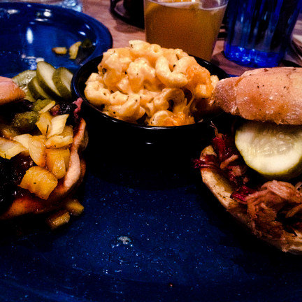 Brisket Slider & Pulled Pork