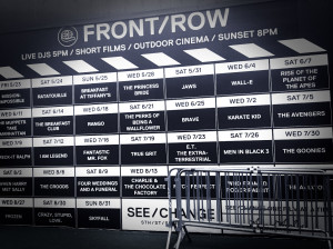 Movie Schedule for Front / Row - South Seaport