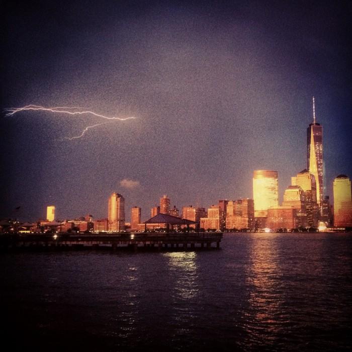 nyc lightning
