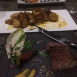 Striploin and Fingerling Potatoes